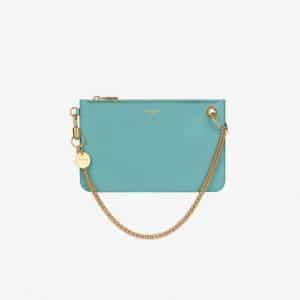 Givenchy Aqua GV Flat Pouch Bag