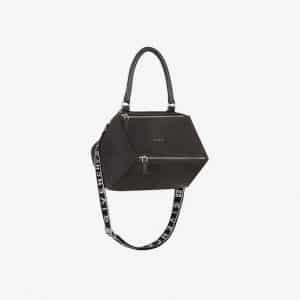 Givenchy Black 4G Nylon Small Pandora Bag