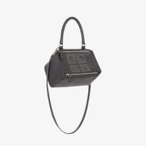 Givenchy Black Eyelets 4G Small Pandora Bag