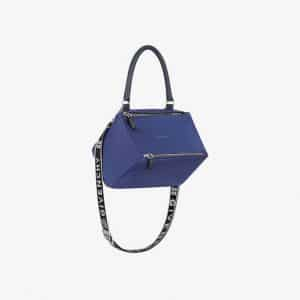 Givenchy Blue 4G Nylon Small Pandora Bag