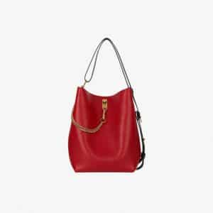 Givenchy Bright Red GV Bucket Bag