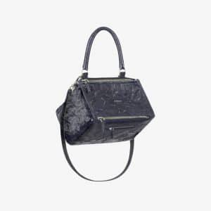 Givenchy Dark Blue Aged Leather Medium Pandora Bag