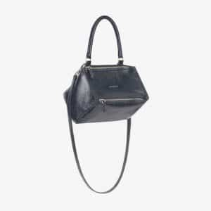 Givenchy Dark Blue Patent Small Pandora Bag