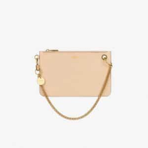 Givenchy Powder Pink GV Flat Pouch Bag