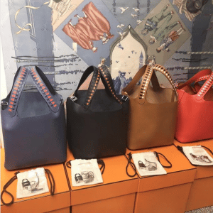 Hermes Picotin Lock 22 Bags with Braided Handles