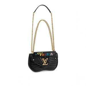 Louis Vuitton Black New Wave Chain PM Bag