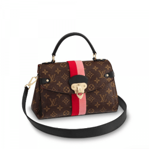 Louis Vuitton Coquelicot Peche Monogram Canvas Georges BB Bag