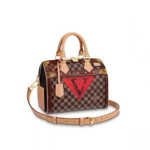 Louis Vuitton Damier Time Trunk Speedy 25 Bag