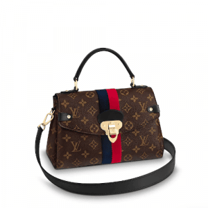 Louis Vuitton Marine Cerise Monogram Canvas Georges BB Bag
