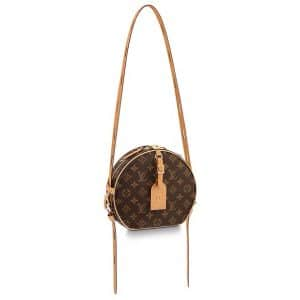 Louis Vuitton Monogram Canvas Boite Chapeau Souple Bag