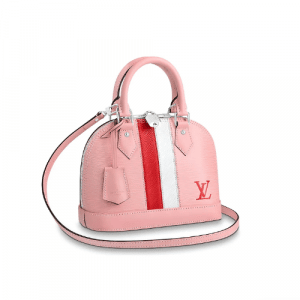 Louis Vuitton Rose Ballerine Epi Alma BB Bag