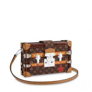 Louis Vuitton Monogram Canvas Time Trunk Petite Malle Bag