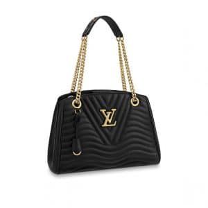 Louis Vuitton Noir New Wave Chain Tote Bag