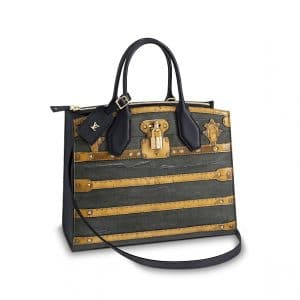Louis Vuitton Time Trunk City Steamer MM Bag