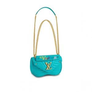 Louis Vuitton Turquoise New Wave Chain PM Bag