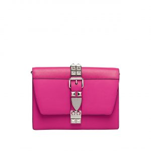 Prada Fuchsia Elektra Small Shoulder Bag