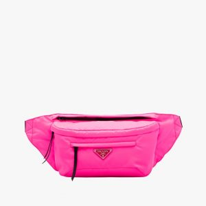 Prada Fuchsia Nylon Belt Bag