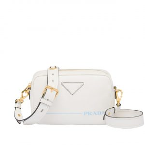 Prada White Mirage Shoulder Bag