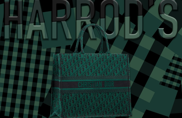 Harrods Book Tote Pop Up