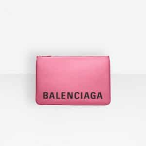 Balenciaga Bubble Gum Ville Pouch M Bag