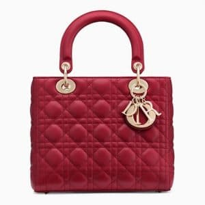 Dior Red Lady Dior Bag