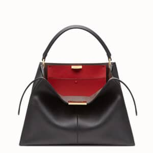 Fendi Black Peekaboo X-Lite Bag