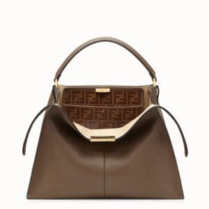 Fendi Brown Peekaboo X-Lite Bag