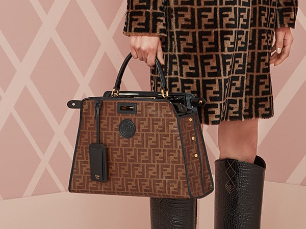27bda096e5 Fendi Fall/Winter 2018 Bag Collection With The New Peekaboo Defender ...