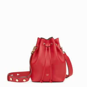Fendi Red Mon Tresor Bag