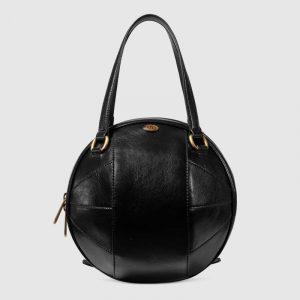 Gucci Black Basketball Shaped Tote Bag