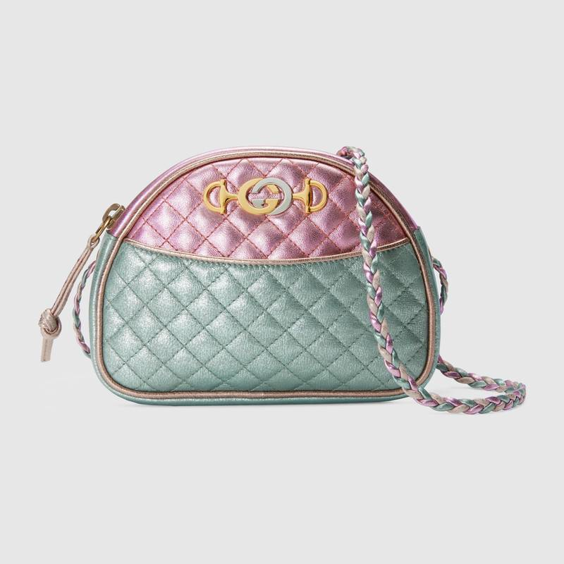 018c71c6d5af Gucci Fall Winter 2018 Bag Collection Features Laminated Bags ...