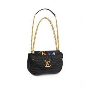 Louis Vuitton Black New Wave Chain MM Bag