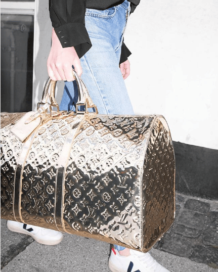 Louis Vuitton Miroir Keepall Bag