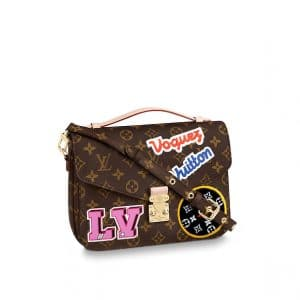 Louis Vuitton Monogram Patches Pochette Metis Bag