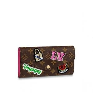 Louis Vuitton Monogram Patches Sarah Wallet