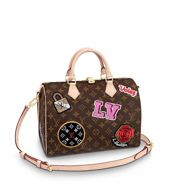 53c5088786b1 Louis Vuitton Monogram Patches Collection From Fall 2018