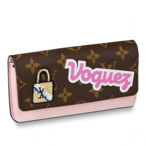 Louis Vuitton Monogram Patches Woody Glasses Case