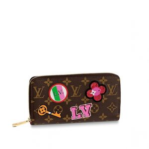 Louis Vuitton Monogram Patches Zippy Wallet