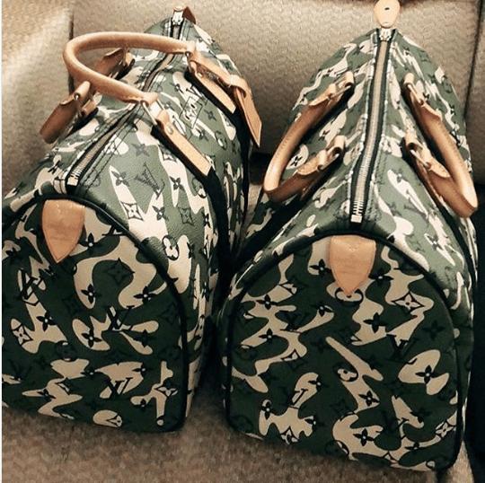 Louis Vuitton Monogramouflage Keepall Bag
