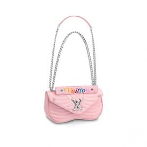 Louis Vuitton Smoothie Pink New Wave Chain MM Bag