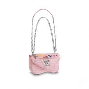 Louis Vuitton Smoothie Pink New Wave Chain PM Bag