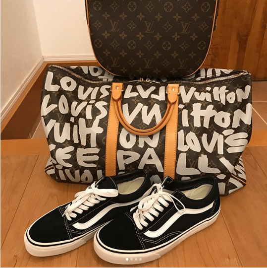 Louis Vuitton Stephen Sprouse Graffiti Keepall Bag