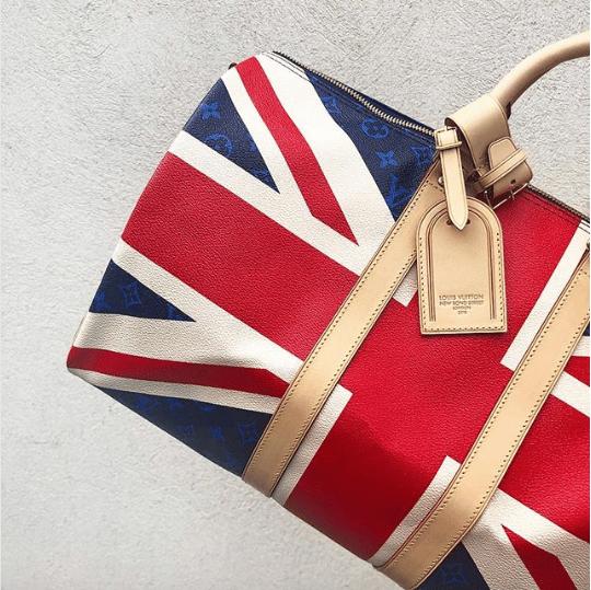 Louis Vuitton UK Royal Wedding Keepall Bag