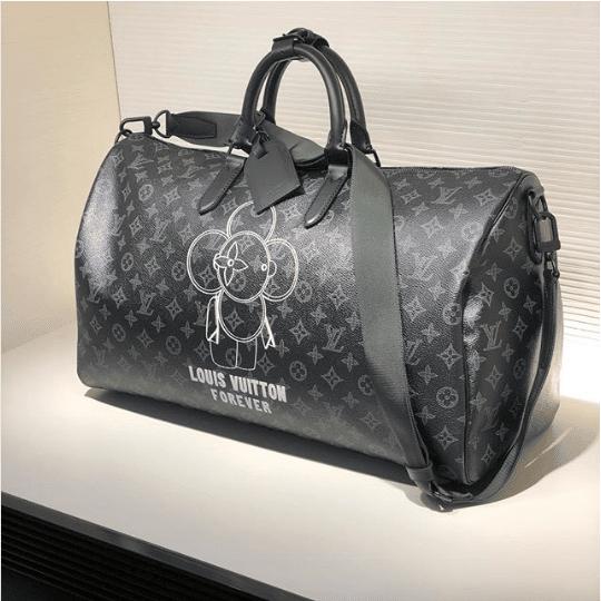 Louis Vuitton Vivienne Eclipse Keepall Bandoulière Bag