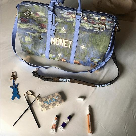 Louis Vuitton x Koons Keepall Bag