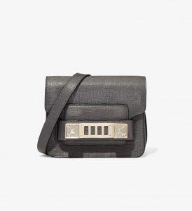 Proenza Schouler Asphalt Grey PS11 Mini Crossbody Bag