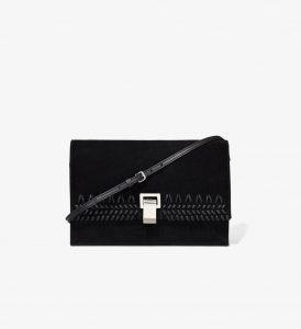 Proenza Schouler Black Crochet Small Lunch Bag