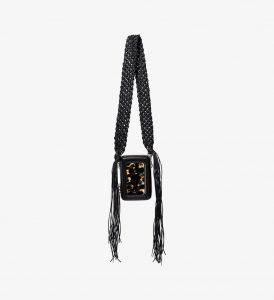 Proenza Schouler Black/Yellow Tie Dye Mini Bag