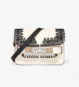 Proenza Schouler Clay Crochet PS11 Mini Classic Bag