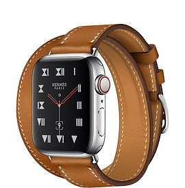 Apple Watch Hermès Series 4 Fauve Barenia Leather Double Tour